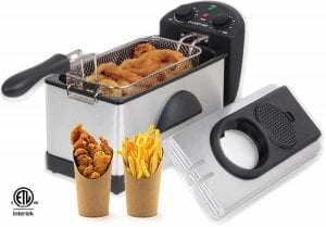 Gourmia GDF300 Stainless Steel Deep Fryer