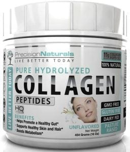Premium Hydrolyzed Collagen Peptides Bovine Protein Powder Supplement