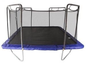 Square Skywalker Trampolines with Enclosure