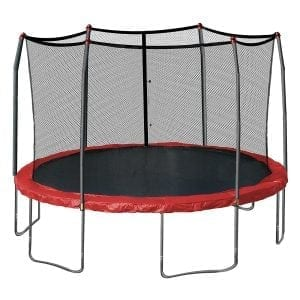 15-Feet Round Skywalker Trampolines with Spring Pad