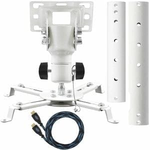 Cheetah Mounts APMFW Universal Projector Ceiling Mount