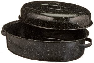 Granite Ware 0509-2 18-Inch Covered Oval Roaster