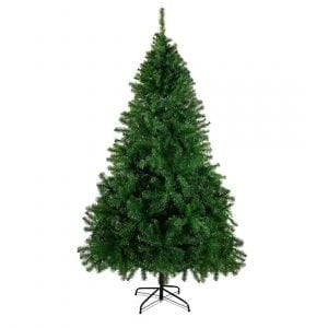 HAPPYPONY 7.5' Premium Artificial Christmas Pin Tree