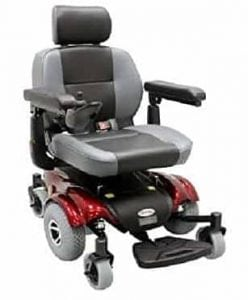 Upgraded Compact Mid – Wheel Power Wheelchair