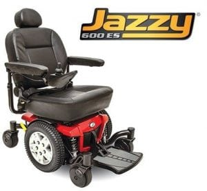 Pride Mobility the Jazzy 600 ES Electric Wheelchair