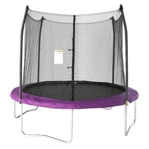 Skywalker Trampolines 10 Feet. Round Trampoline and Enclosure with Spring