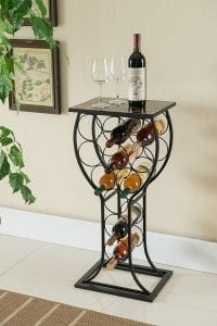 Kings Brand Furniture Wine Storage Organizer Display