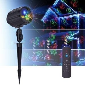 Laser Christmas Lights Projector with Motion Star Night Shower