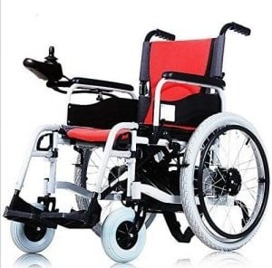 Lightweight Electric Wheelchair Portable for Disabled and Elderly Mobility