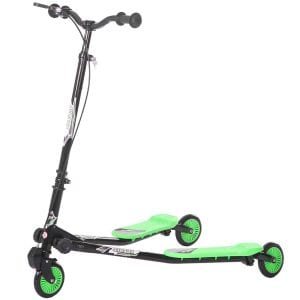 Merax Kids 3 Wheels Foldable B01MU5RP1W Swing Dragon Tri Scooter Winged Push Motion
