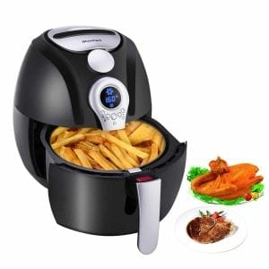 Blusmart 1,400-Watt Air Fryer with LED Display