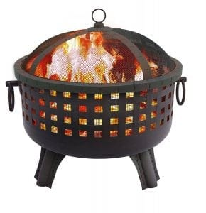Landmann 26364 23-1:2-Inch Savannah Garden Light Fire Pit