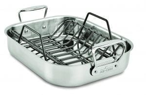 All-Clad E752S264 Stainless Steel Small Roaster
