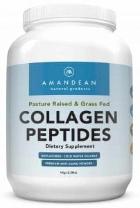 Amandean Hydrolyzed Collagen Peptides Powder