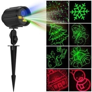 Fiery Youth laser Christmas Projector Waterproof Light