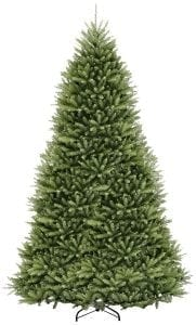 National Tree 12 Foot Artificial Hinged Dunhill Fir Tree