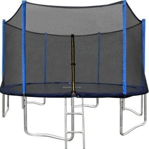 ORCC 15FEET 12FEET Trampoline with Enclosure Net