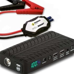 Rugged Geek RG1000 Safety 1000A Portable Car Jump Starter, Battery Booster Pack