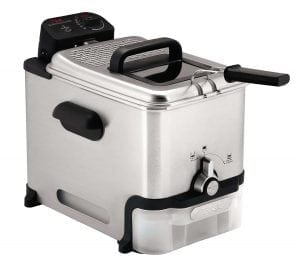 T-Fal FR8000 3.5-Liter Stainless Steel Deep Fryer