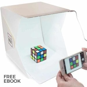 BrightBox Portable Mini Photo Studio With LED Light