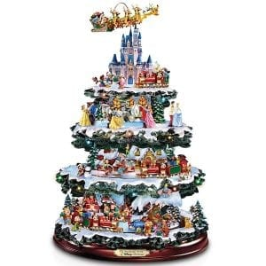 Disney Tabletop Christmas Tree- The Wonderful World Of Disney