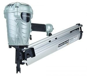 Hitachi NR90AES1 2-Inch to 3-1:2-Inch Plastic Collated Framing Nailer