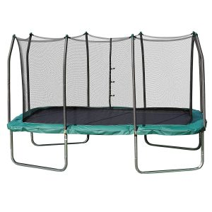 Rectangle Skywalker Trampolines with Enclosure