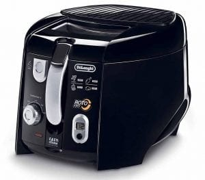 DeLonghi D28313UXBK 1.5-Lb Food Capacity Deep Fryer