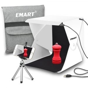 Emart LED Foldable & Portable Photo Lighting Box