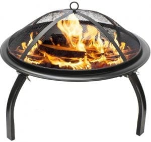 Sorbus Fire Pit 22 Portable Outdoor Fireplace