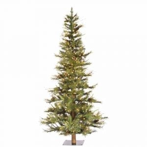 Vickerman 6-Feet Tall Artificial Christmas Tree With PVC Needles