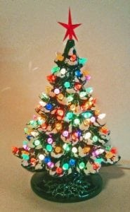 Christmas Decoration - Lighted Christmas Tree