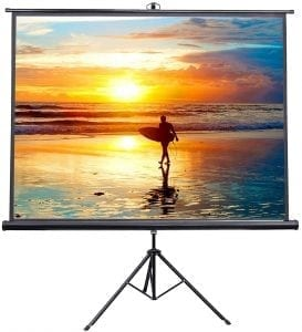 VIVO 100 Portable Indoor Outdoor Projector Screen