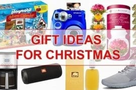 Best gift ideas for Christmas