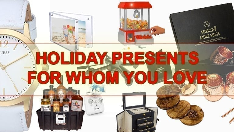 Holiday presents for whom you love