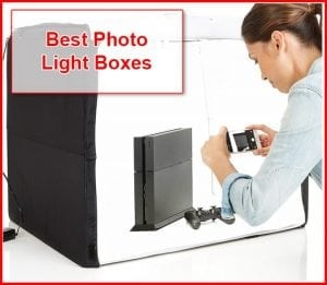 Photo light boxes