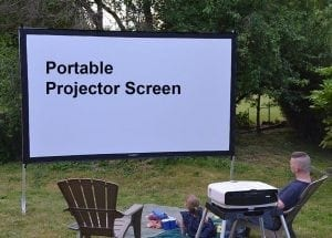 Portable projector screens reviews
