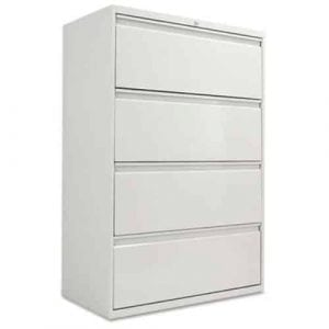Alera LA543654LG 364-Drawer Lateral File Cabinet