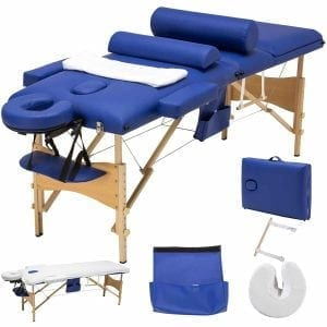 MSG 3 Fold 84 L Portable Massage Table