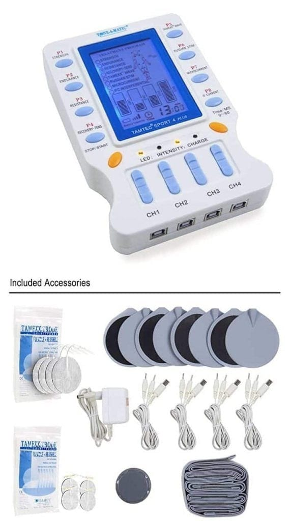 Tone-A-Matic Electric Muscle Stimulator & TENS