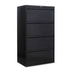 Alera LA543054BL 30 4-Drawer Lateral File Cabinet