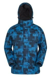 Mountain Warehouse Shadow Men's Printed Ski Jacket