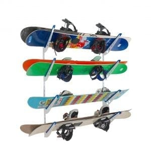 Store Your Board Metal Snowboard Storage Rack