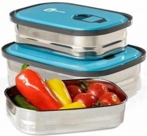 Bento Lunch Box Food Container Storage