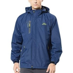 Spvoltereta Men's Lightweight Outdoor Waterproof Jacket