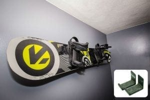 StoreYourBoard, Naked Snow | Snowboard Display Wall Rack