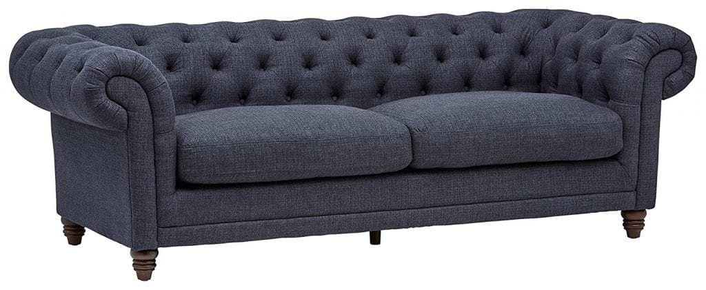 Stone & Beam Bradbury Chesterfield Tufted Sofa