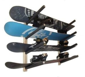 Pro Board Racks Snowboard Wall Rack Mount