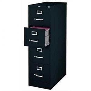 Scranton and Co 4 Drawer Letter File Cabinet