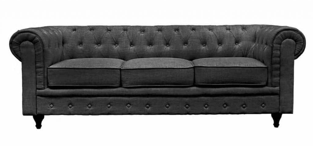 BD Home Furnishings Classic Chesterfield Style Sofa